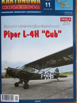 """PIPER L4H """"CUB"""" au 1/33"""