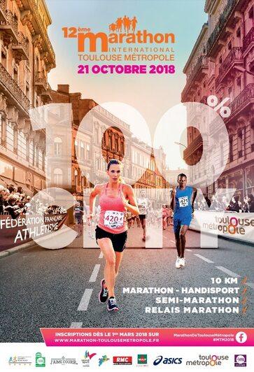 Mon marathon de TOULOUSE 2018
