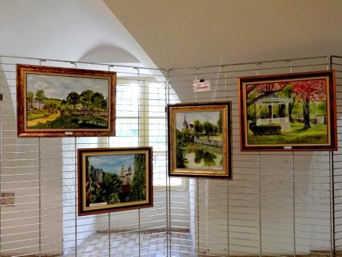 Souvenirs du  troisième Salon des Peintres des Amis du Châtillonnais
