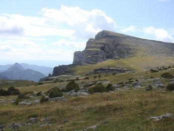 Le sommet du Mondoto, qu'on vient de quitter