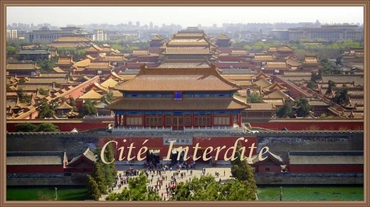 Patrimoine mondial de l'Unesco : La cité Interdite - Pékin - Chine - 1ere partie