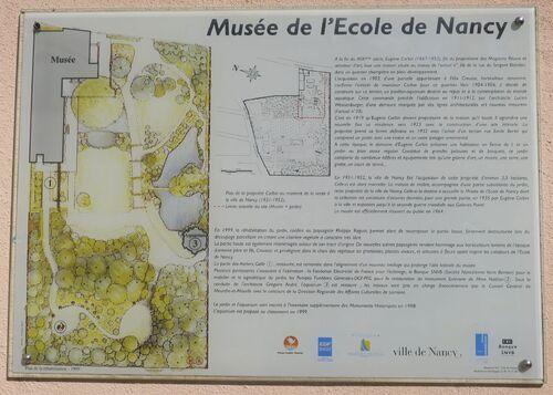 Visite du Musée de l'Ecole de Nancy