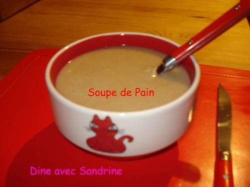 Ma Soupe de Pain