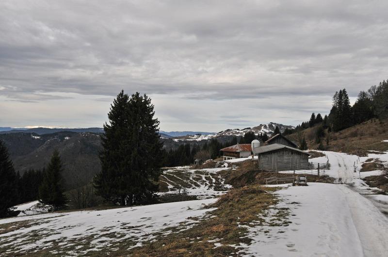 Balade d'hiver : l'Arpenaz (1)