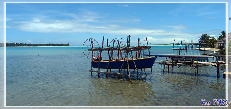 parking à bateaux et pirogues - Maupiti - Polynésie française