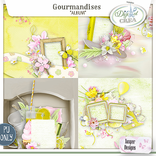 Gourmandises Album de Xuxper Designs