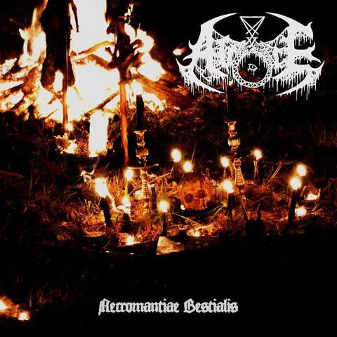 ATROCE - Détails et extrait du nouvel album Necromantiae Bestialis
