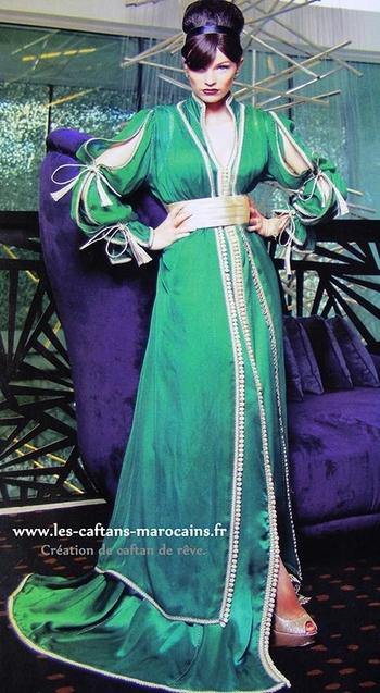 Takchita-marocaine-2015-de haute couture à prix doux pour soirée marocaine et oriental TAK-S916