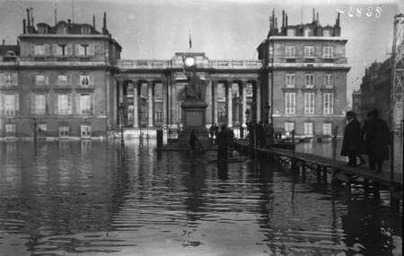 L'Assemblée Nationale était submergée par la Seine