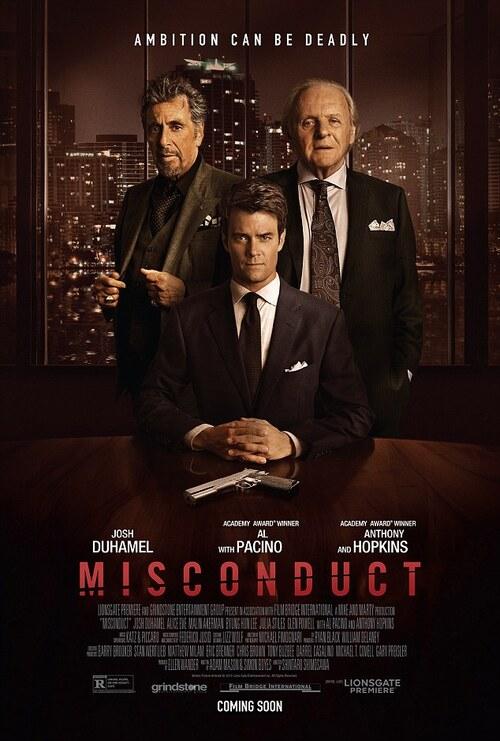 """Bonsoir a l'honneur : """" Misconduct """""""