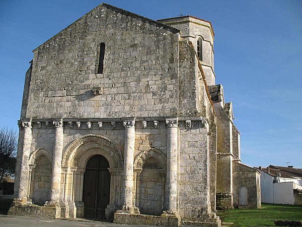 église st trojan de rétaud1