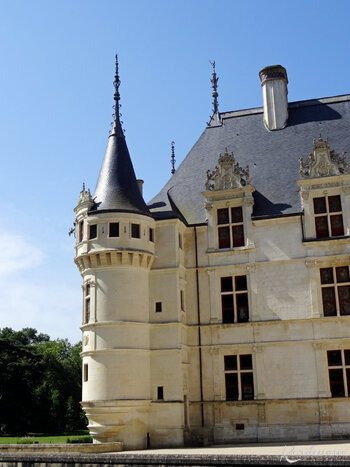 Château d'Azay-le-Rideau - Les façades (9)