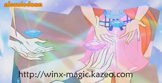 les winx et leur gemme magique