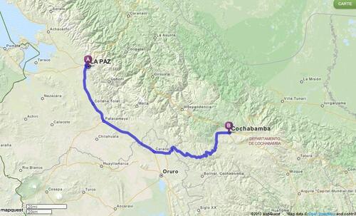 25.06.2013 - La Paz > Cochabamba