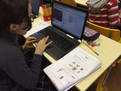 Initiation au coding  en CM2
