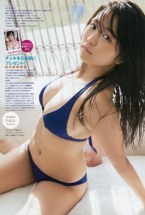 Magazine : ( [Young Animal Arashi] - 2017 / N°11 - Yuno Ohara Staring )