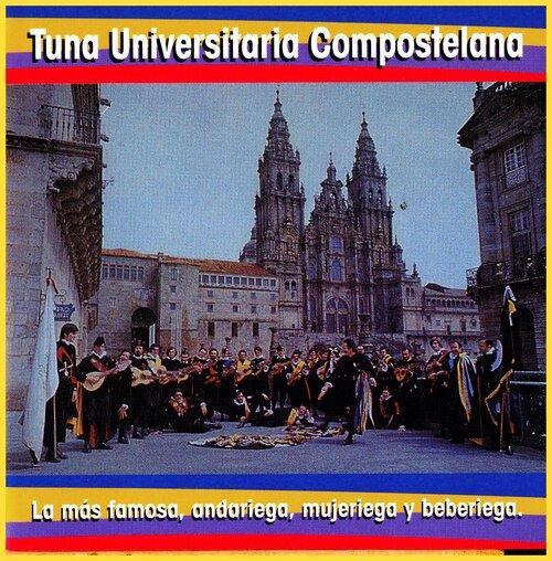 Tuna Universitaria Compostelana - Ojos de España