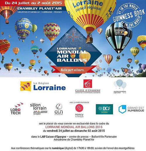 En Lorraine, 433 montgolfières battent un record du monde !