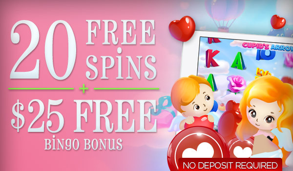 20 Free Spins + $25 Free