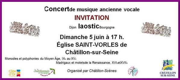 Un beau concert à Saint-Vorles par l'ensemble Le Laostic