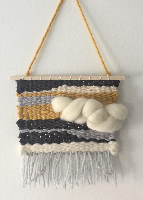Tissage avec Julie Textile Designer