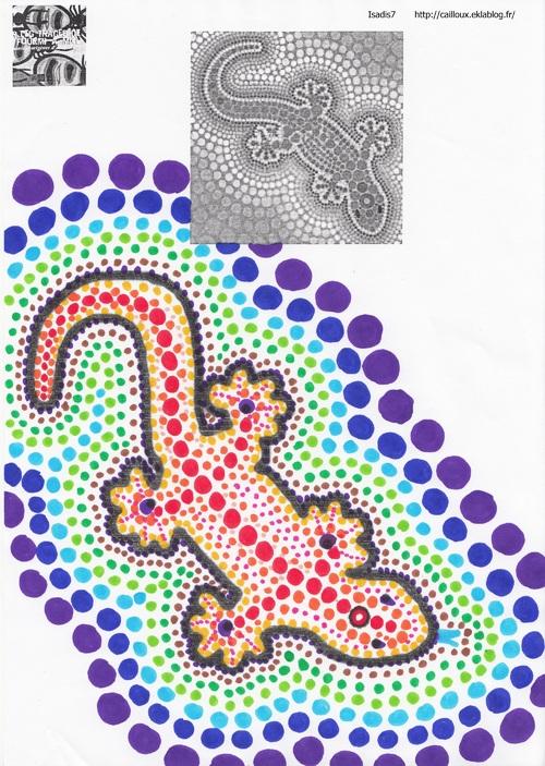 Lézard à langue bleue d'Australie