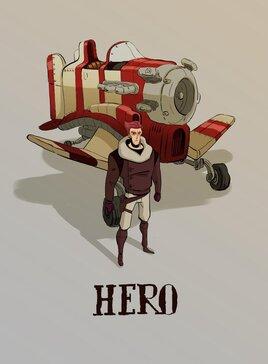 HERO, UN NOUVEL OPEN MOVIE...EN 2D pour developper l'outil GREASE PENCIL de BLENDER