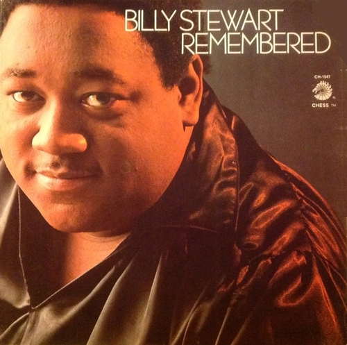 "Billy Stewart : Album "" Remembered "" Chess Records LPS-1547 [ US ]"