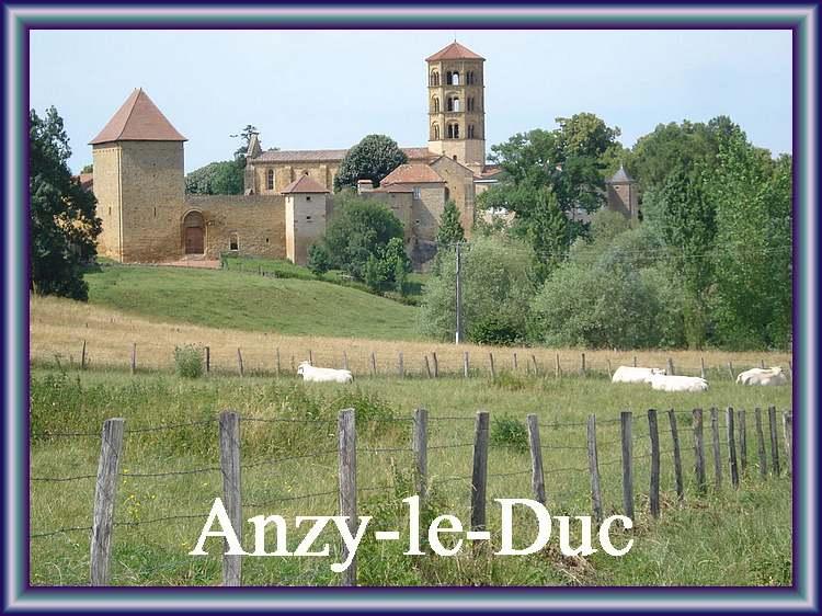 Anzy-le-Duc (Sâone-et-Loire)