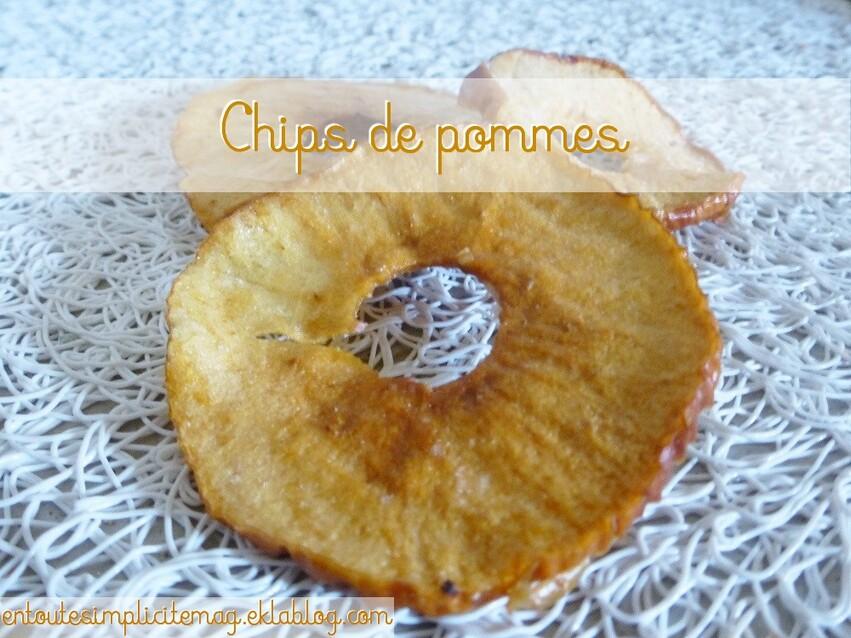 Les chips de pommes