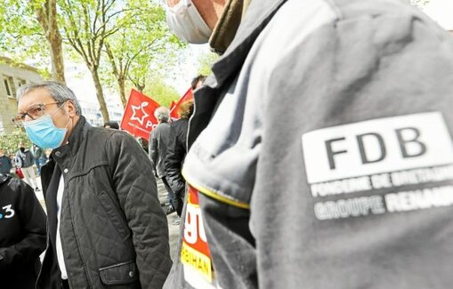 PHOTO FRANCOIS DESTOC / LE TELEGRAMME LORIENT (56) : Fonderie de Bretagne. Le sous-préfet de Lorient, Pierre Clavreuil, a annoncé l'annulation du CSE de la Fonderie de Bretagne qui devait se tenir lun