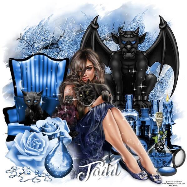 Dark Blue Angel