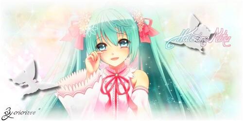 Theme Hatsune Miku Butterfly