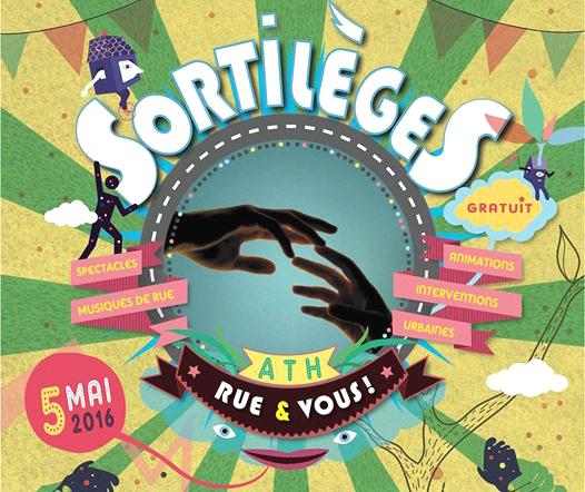 «Sortilèges, Rue et Vous», festival de rue à Ath (B) le 5 mai