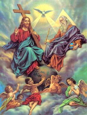 """ô mon Dieu... Trinité que j'adore"""
