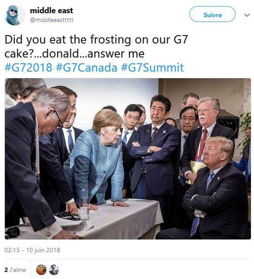 Qui a mangé le glaçade du gâteau