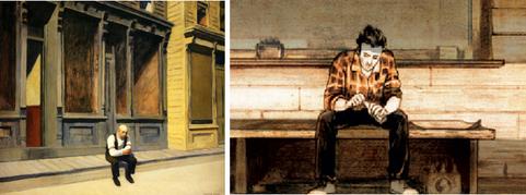 Edward Hopper / Romain Renard