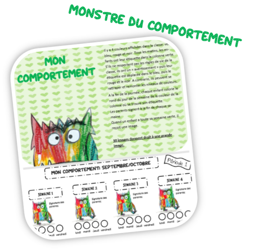 Monstre du comportement