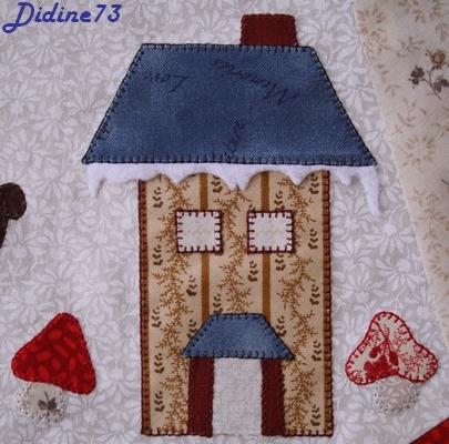 Mon tapis de sapin - étape 5 - zoom2