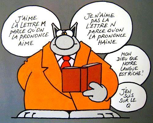 Le français, c'est simple