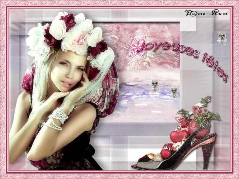 Merci Rose pour ce beau cadeau Bonne Année!