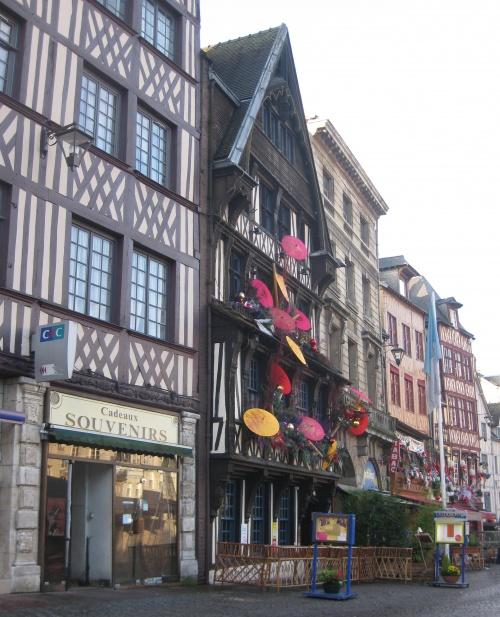 La plus vieille auberge de France est à Rouen
