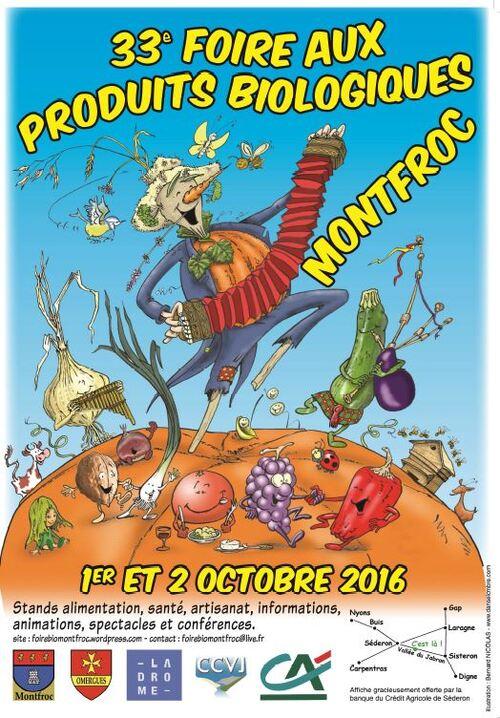*GRATIFÉRIA à la Foire de Montfroc 1 et 2 Oct 2016