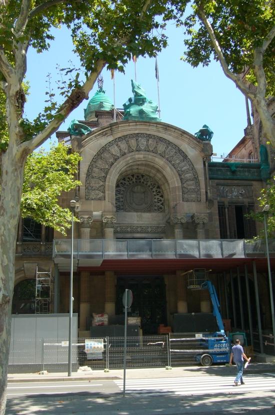 Arc de Triomph-Palais de Justice
