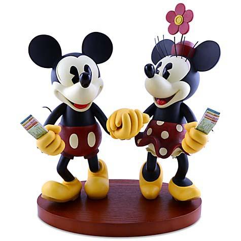 FIGURINES MICKEY ET MINNIE - Le monde de Disney