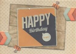 Suite des cartes d'anniversaire