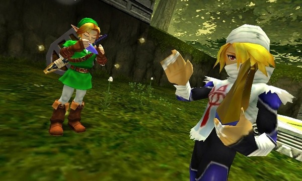 Image Zelda Ocarina of time 3DS