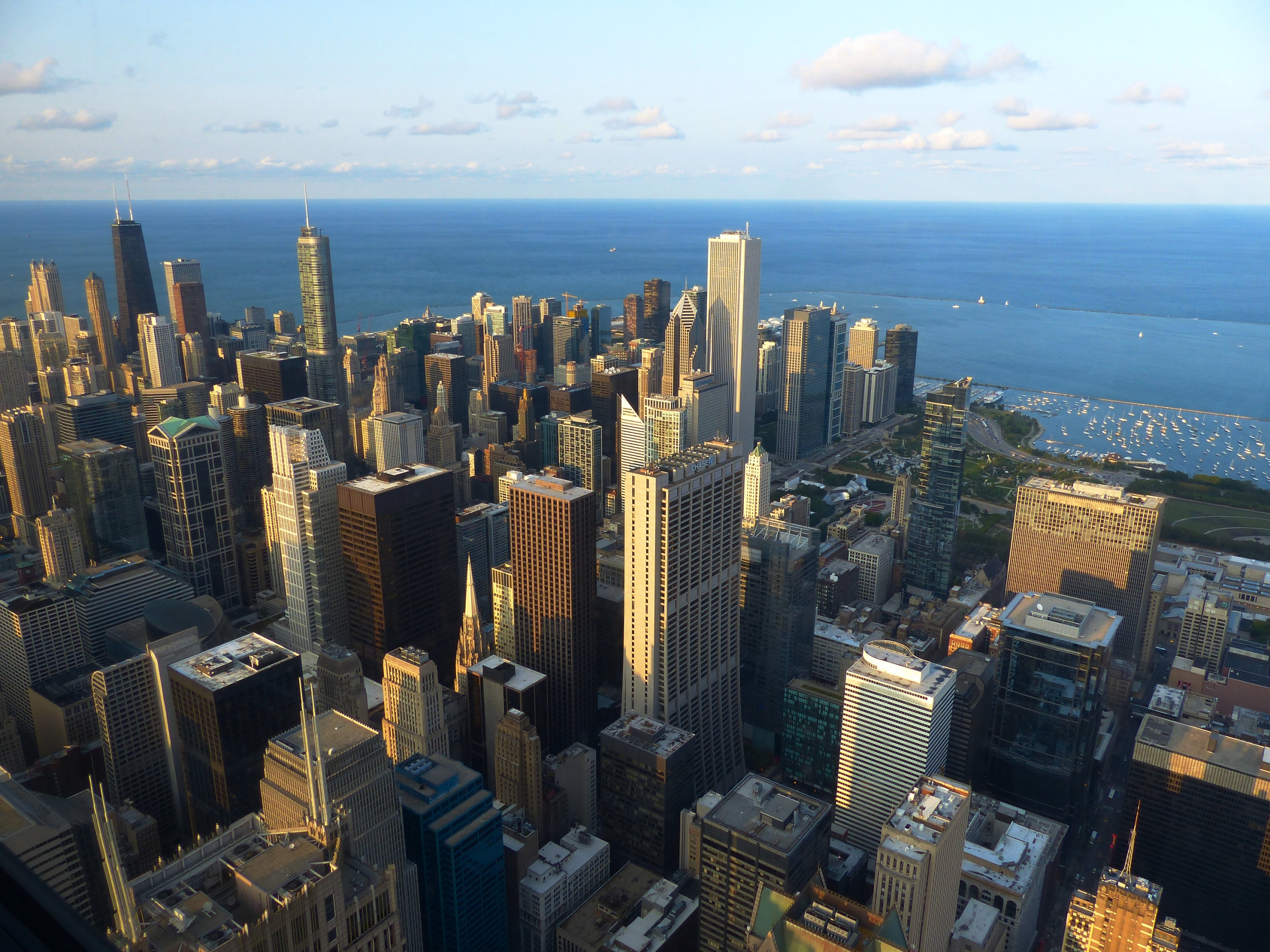 vue de Chicago depuis le Skydeck
