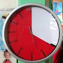 DIY - Un Time Timer pour la classe