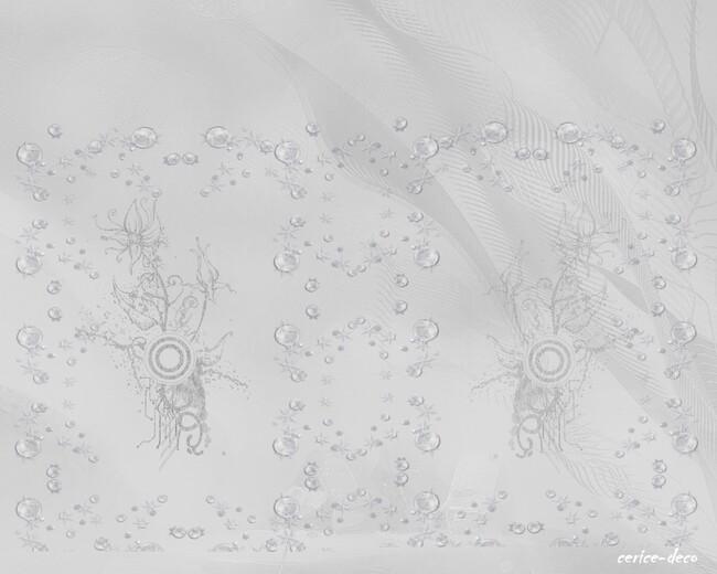 design perles bleuté
